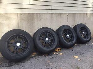 mags 16 pouces 5x114.3 plus pneus !