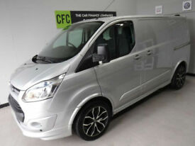 Ford Transit Custom ST VAN 2.2TDCi 270 L1H1 BUY FOR ONLY £299 A MONTH FINANCE