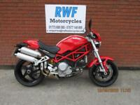 DUCATI S2R 1000 MONSTER, 2008, ONLY 8755 MILES WITH FSH, MINT COND, FULL MOT