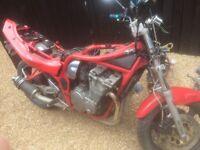 Suzuki bandit mk1 breaking all parts!!!!