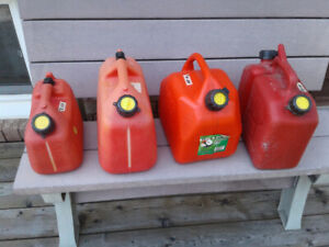 FUEL CONTAINERS-ASSORTED SIZES