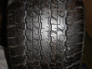 1-285/65R17 116H DUNLOP GRANDTREK AT22 ASK FOR 1514 B7