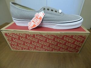 BNIB Vans Authentic Cotton Hemp Shoes - Grey - Sizz 12