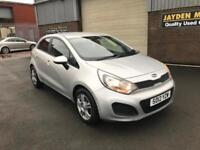 2012 KIA RIO 1 Air 1.1 CRDi EcoDynamics MANUAL 5 DOOR 68000 MILES WARRANTED