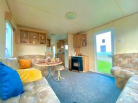 Cheap 3 bedroom heated caravan for sale