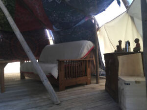 Off Grid Tipi Accommodation