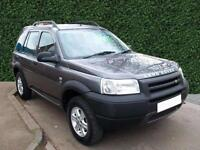 2002 Land Rover Freelander 2.0 TD4 Serengeti Limited Edition 5dr