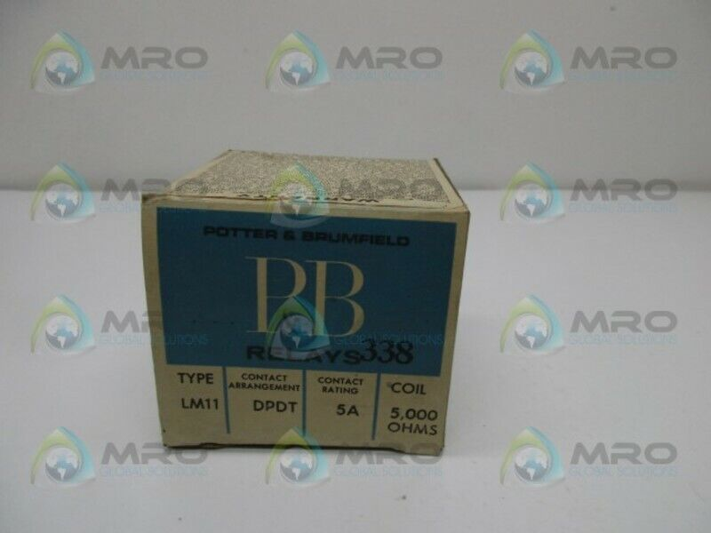POTTER & BRUMFIELD LM11 RELAY COIL * NEW IN BOX *