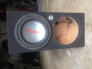 """12"""" Subwoofer with box"""