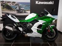 2018 new KAWASAKI NINJA H2 SX ZX1002AJF LIMITED in White and Green