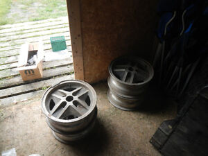 14 inch 4 by 4.75 inch aluminium rims Kawartha Lakes Peterborough Area image 2