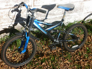 three different kids bikes for sale,bmx,triumph,and another bmx