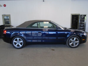 2008 AUDI A4 CONVERTIBLE! AWD! ONLY 96,000KMS! ONLY $11,900!!!!