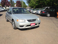 2001 Toyota Corolla CE Plus Sedan Kitchener / Waterloo Kitchener Area Preview