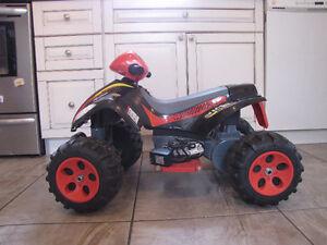 Lightning McQueen Quad