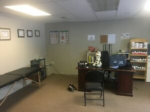 480 sf workshop or office w reception area & storage room