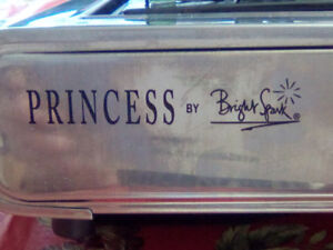 45.00 FOR A PRINCESS BRIGHT SPARK BUTANE STOVE WITH FUEL