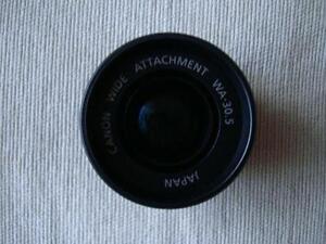 Canon Wide Attachment WA-30.5