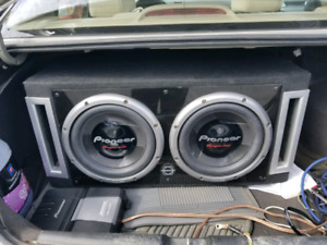 Subwoofer 2x12Po Pioneer **NEGO**