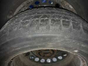 Winter tires on rims P195/60R15 for Cobalt and G5