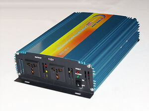 1500w Power Inverter, pure sine wave DC 12V TO AC 240V, free shipping