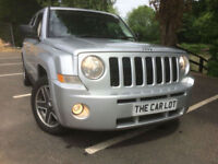 Jeep Patriot 2.0CRD Limited FSH DRIVES WELL 4X4 FULL LEATHER