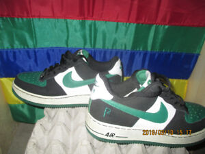 Brand New Air Force 1s Limited Edition Black Green & White
