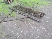 Tractor chain Harrows ideal for horse arena