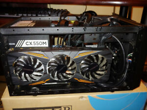 Gaming desktop neuf i5 7600k gtx 1070 ssd hdd 2 Tb Wi-Fi