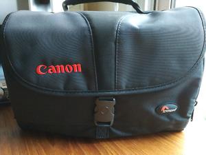 Canon Lowepro camera bag