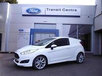 "NEW Ford Fiesta Sport Van, 1.5TDCi 95PS, Frozen White + 17"" Alloys - Onsite"