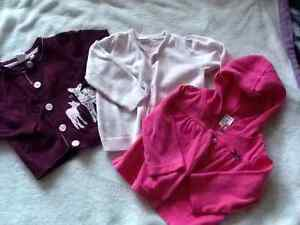 H&M and Carter's cardigans for 9 months old baby girl