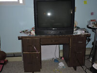 tv + table $ 20