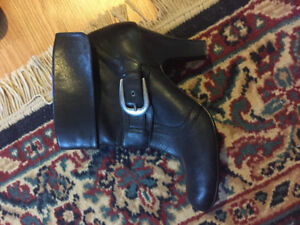 Denver Hayze leather booties