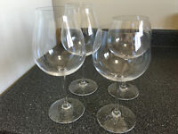 Set of 4 Riedel Vinum XL Crystal Wine Glasses