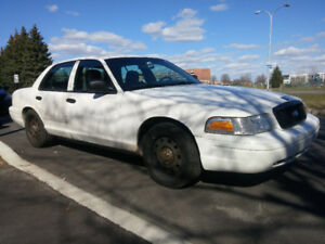 2008 Ford Crown Victoria police pack interceptor