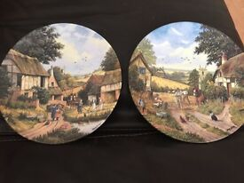 2 Royal dalton plates