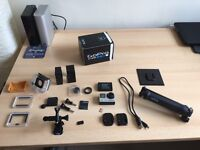 GoPro Hero 4 Black edition 4K with lots of accessories