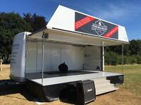 STAGE HIRE 6M X 4M COVERED STAGE 350.00 PER DAY