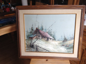 Oil Painting Canadian wilderness for sale