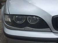 Bmw E46 M Sport Pair Of Headlights and signal