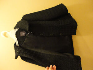 Women's Forever 21 black coat jacket Size Small New with tags London Ontario image 1
