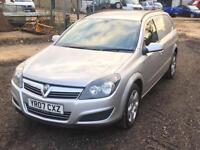 Vauxhall Astravan 1.9CDTi 16v 2007 Sportive 120ps Silver Air Con Alloys FSH 149k