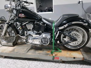 Trade Harley Dyna WG and Softail