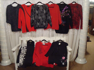 Reduced to $650 obo 200 pces of quality womens' clothing L to XL