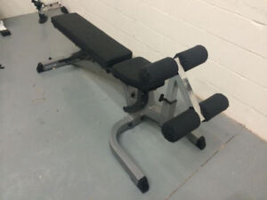 BodySolid Top of the Line Adjustable Bench - GFID71 no dumbbells