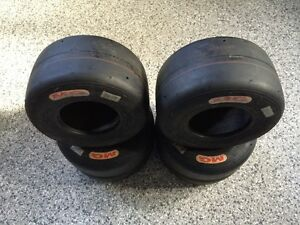 Brand new MG red Kart tires