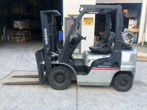 Second Hand Nissan Forklift 2.5 ton Lift Capacity Northmead Parramatta Area Preview