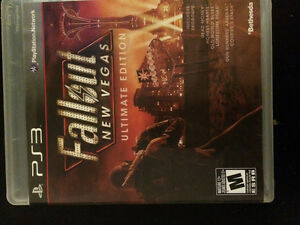 Selling fallout new Vegas ultimate edition Ps3