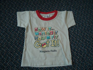 Boys Size 3 Short Sleeve I Wanted It T-Shirt